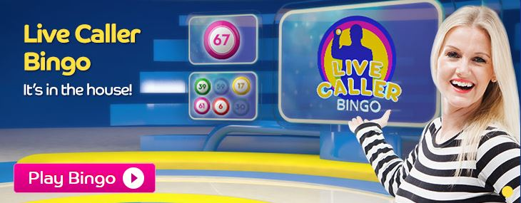 Here is the Live Caller Bingo promo