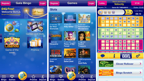 Gala Bingo, the bingo arm of the UK gambling entity, Gala Coral, is easily one of the best places to enjoy a game of bingo online. Their mobile bingo halls are available for people that want to enjoy the rush of bingo on the go.